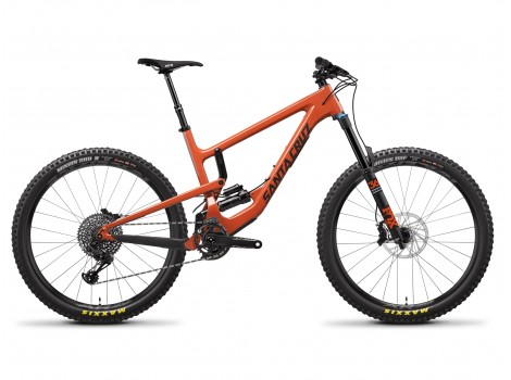 VTT Santa Cruz Nomad Carbon S Orange