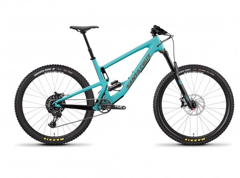 VTT Santa Cruz Bronson Carbon R Bleu