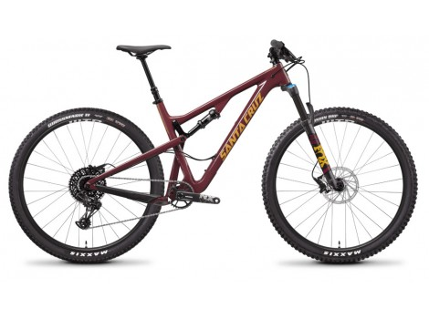 VTT Santa Cruz Tallboy Carbon R Bordeaux