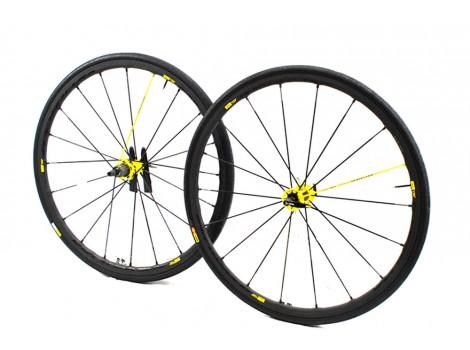 Paire de roues vélo route Mavic Ksyrium 125 - Axe Avant et Arrière 9 mm - Occasion