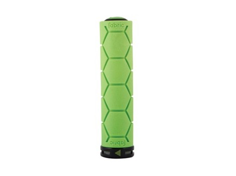 Poignée VTT Fabric Silicone Lock-on grip - Vert