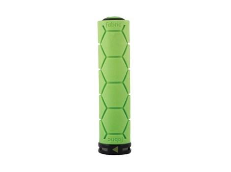 Poignée VTT Fabric Silicone Lock-on grip - Vert