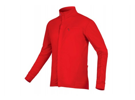 Maillot vélo Endura Roubaix Xtract Rouge