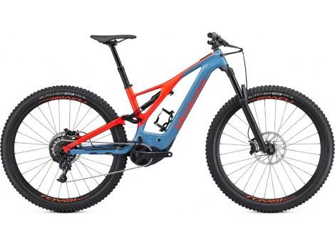 VTT électrique Specialized Levo Men Expert Carbon 29 Bleu - Rouge - 2019