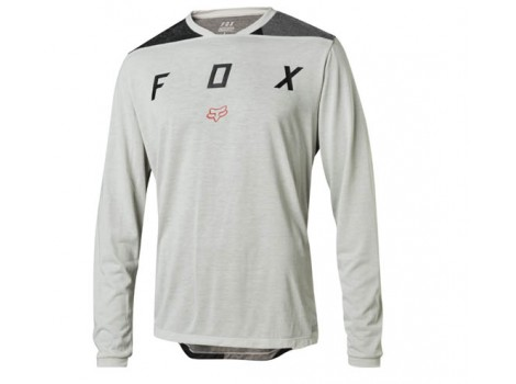 Maillot vélo hiver Fox Indicator Thermo Gris