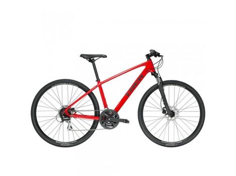Vélo tout-chemin Trek Dual Sport 2 Rouge - 2019