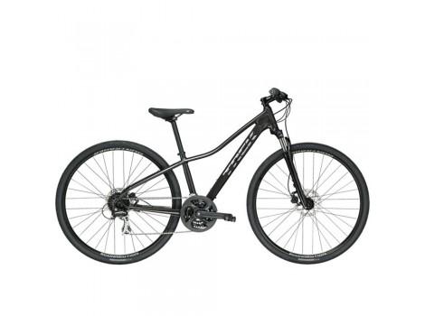 Vélo tout-chemin Trek Dual Sport 2 Femme Noir - 2019