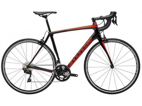 Vélo route Cannondale Synapse Carbon 105 Noir rouge - 2019
