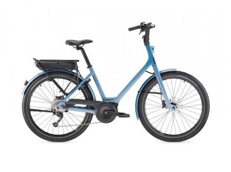 Vélo Moustache Lundi 26.1 Bosch Active + 400 Wh Gris Bleu - 2019