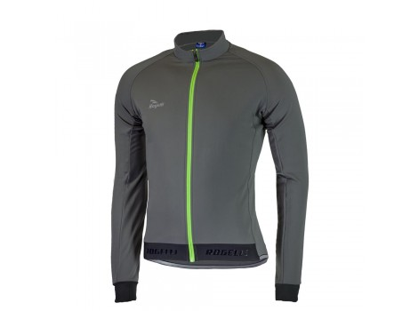 Maillot vélo Hiver Rogelli Treviso 2.0 Gris