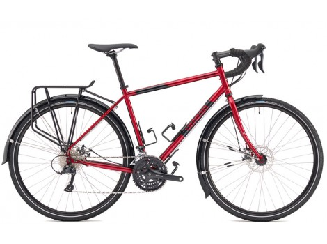 Vélo de voyage Genesis Tour de Fer 10 Rouge - 2019