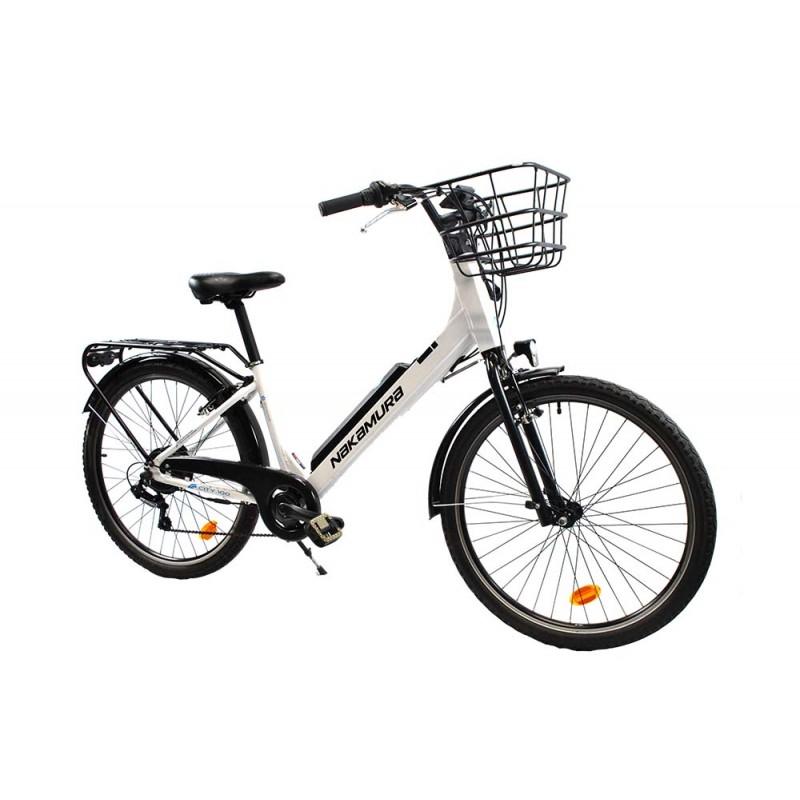 f81bdb2da3c63 Vélo de ville électrique pour femme Nakamura City 100 - Occasion Bon Plan