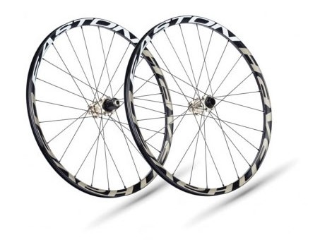 "Paire de roues VTT Easton Haven 26"" Axe AV 15 x 100 / Axe AR 12 x 142"