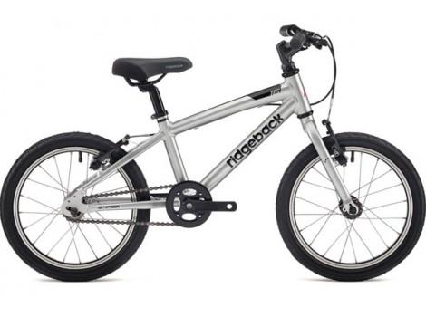 """Vélo enfant Ridgeback Dimension 16"""" gris - 2019"""