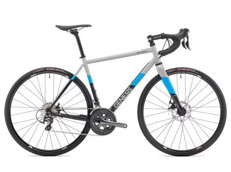 Vélo de route Genesis Equilibrium Disc 10 gris - 2019
