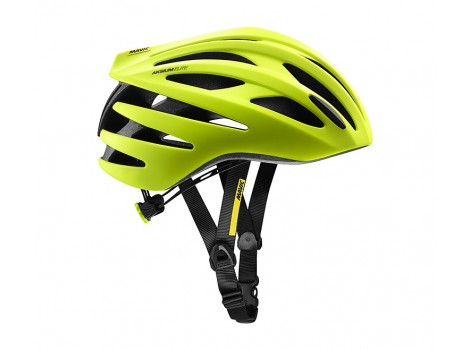 Casque Route Mavic Aksium Elite Safety Yellow/Black