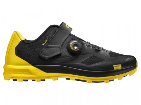 Chaussures VTT Mavic XA Pro Black/Yellow