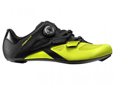 Chaussures Route Mavic Cosmic Elite Black/Yellow