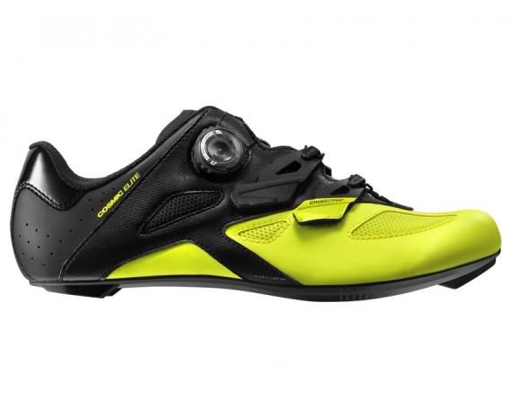 Chaussures Route Mavic Cosmic Elite Black/Yellow
