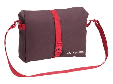 Sacoche guidon Vaude ShopAir Box rouge