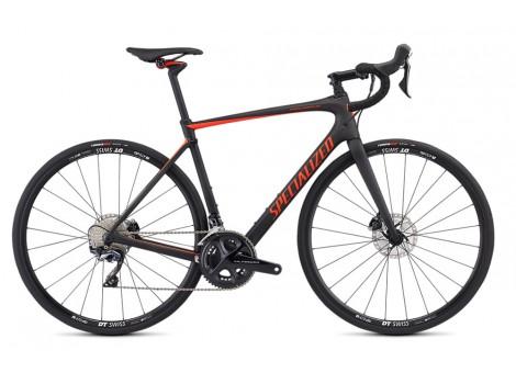 Vélo Specialized Roubaix Comp Noir-Rouge - 2019