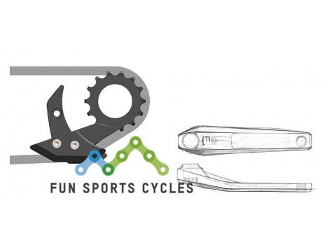Guide chaîne vélo Moustache Bikes CN-KIT05