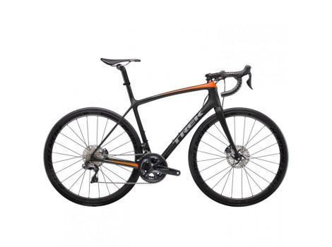 Vélo route Trek Emonda SLR 7 Disque noir-orange - 2019