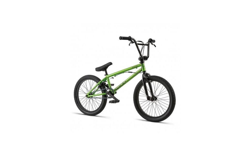 Vélo BMX Radio Dice 18 pouces Vert/Metallic Green - 2019