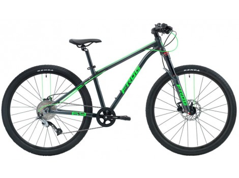 """Vélo VTT FROG MTB 69 26"""" vert - 2019"""