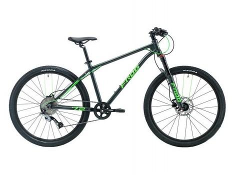"""Vélo VTT FROG MTB 72 26"""" vert - 2021"""