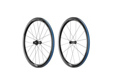Paire de Roues Vélo Route Giant SLR-1 Disc - Axe Av 9x100 - Axe Ar 9x135