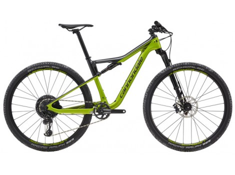 Vélo VTT Cannondale Scalpel-Si Carbon 4 noir/vert - 2019