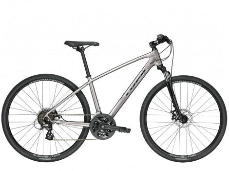 Vélo VTT-VTC Trek Dual Sport 1 gris - 2019
