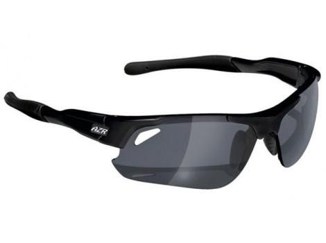 Lunettes vélo AZR Speed Noir Mat Verres gris effet miroir Catégorie 3 - 3262
