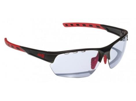 Lunettes vélo AZR Kromic Izoard Noires et Rouges verres gris Catégorie 0 à 3 - 3604