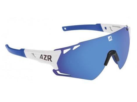 Lunettes vélo AZR Vuelta RX Blanches verres bleu Catégorie 3 - 3547