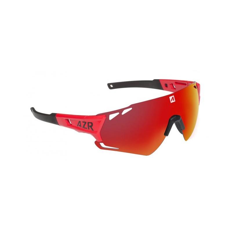 653d43fca3 Lunettes vélo AZR Vuelta RX Noires verres rouges Catégorie 3 - 3542.  Loading zoom