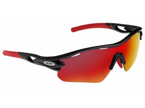 Lunettes vélo AZR Tour RX Noires Verres Rouge Catégorie 3 - 3416