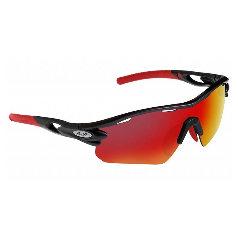 10fa13be042d9 Lunettes vélo AZR Tour RX Noires Verres Rouge Catégorie 3 - 3416. Loading  zoom