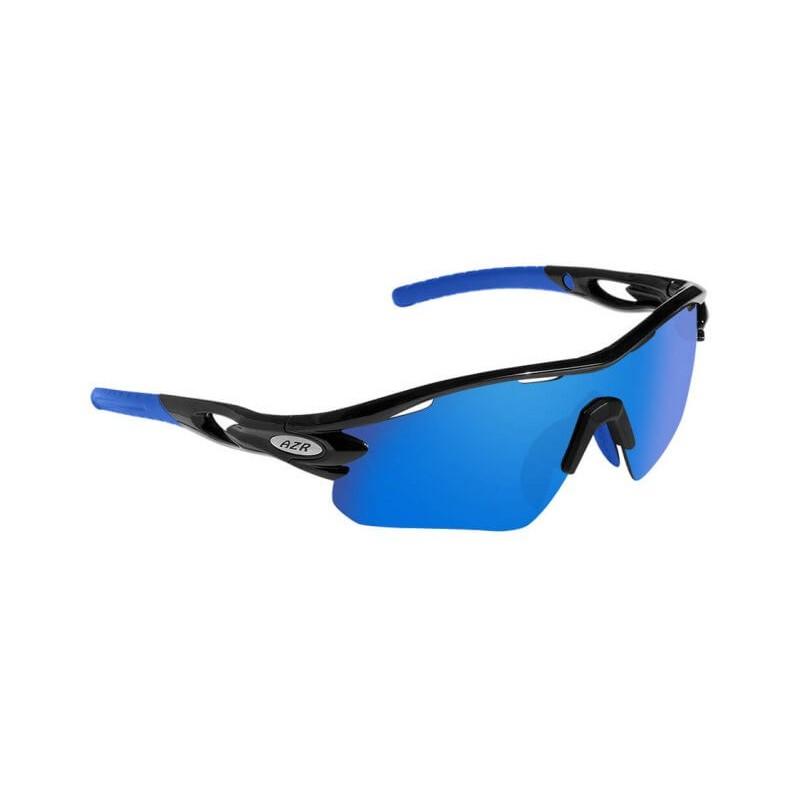 Lunettes vélo AZR Tour RX Noires Verres Bleu Catégorie 3 - 3385. Loading  zoom 49202bc55286