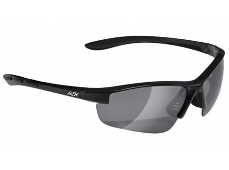 Lunettes vélo AZR Riders Noires écran gris Catégorie 3 - 3360