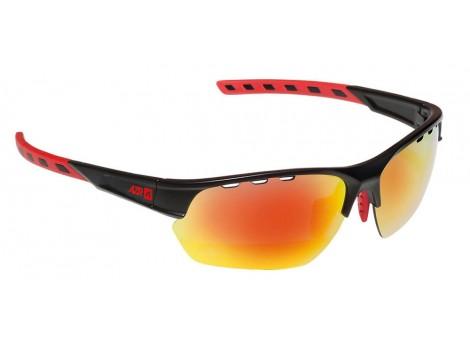 Lunettes vélo AZR Izoard Noires verres rouges Catégorie 3 - 3602