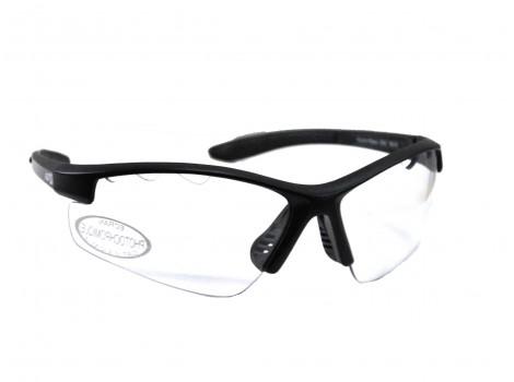 Lunettes vélo AZR Kromic Riders Noires verres transparents - 3362