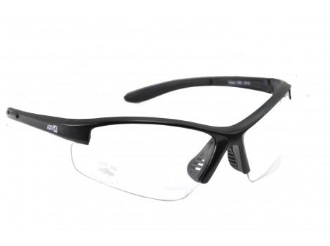 Lunettes vélo AZR Riders Noires verres transparents - 3360
