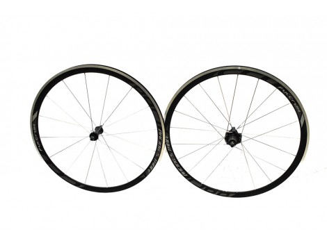 "Paire de roues vélo route Fulcrum Racing S-Three 28"" - Axe Av 9 x 100 - Axe AR 9 x 135"