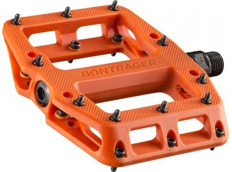 Pédales vélo VTT Bontrager Elite MTB Nylon - Orange