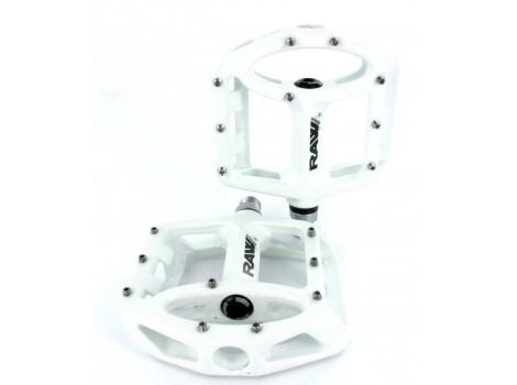 Pédales plates SB3 Unicolor Alu - Blanc