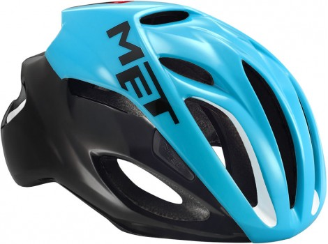 Casque vélo Route Met Rivale Bleu/Noir