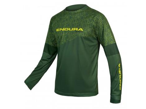 T-shirt VTT Manches longues Endura MT500 ForestGreen - Edition Limitée