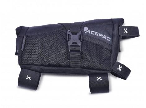 Sacoche de cadre Acepac Roll Fuel Bag M - Noir